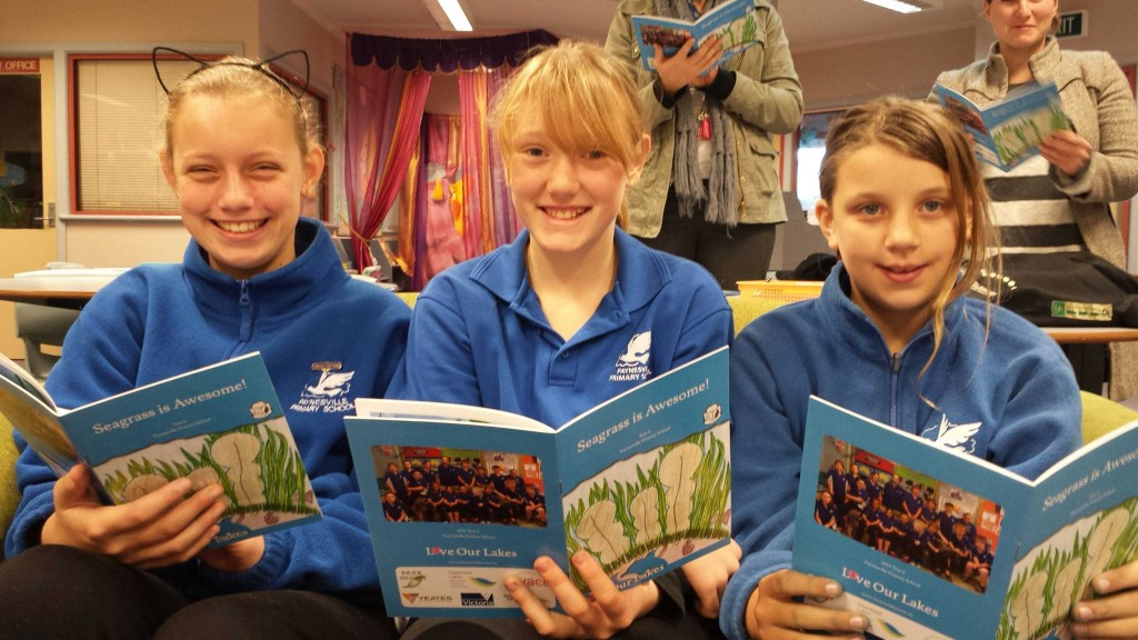 Paynesville students @ book launch